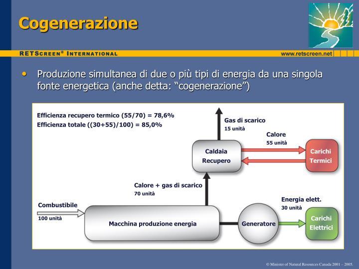 Cogenerazione