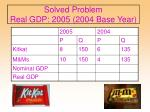 solved problem real gdp 2005 2004 base year