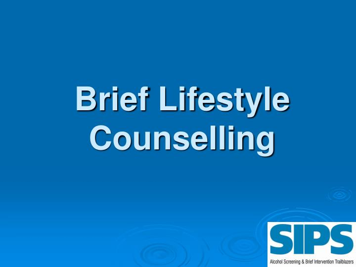 Brief Lifestyle Counselling