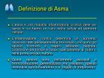 definizione di asma1