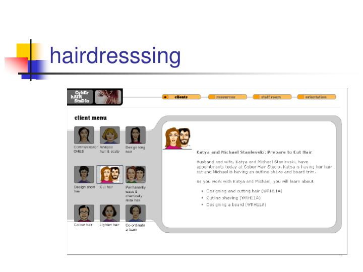hairdresssing