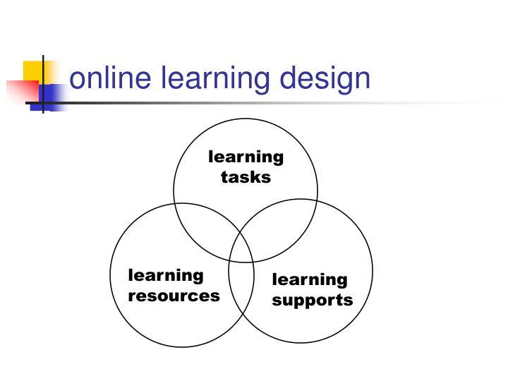 online learning design