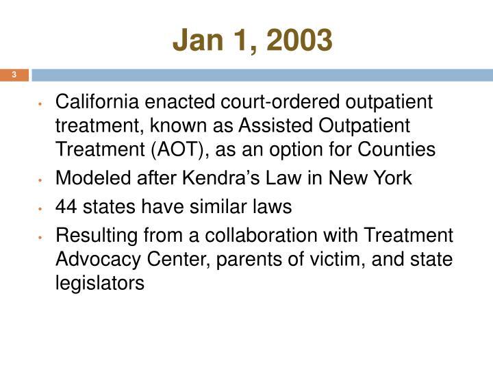 Jan 1, 2003