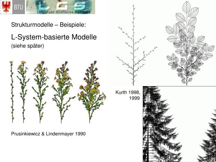 Strukturmodelle – Beispiele: