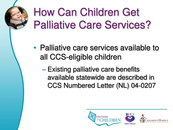 How Can Children Get Palliative Care Services?