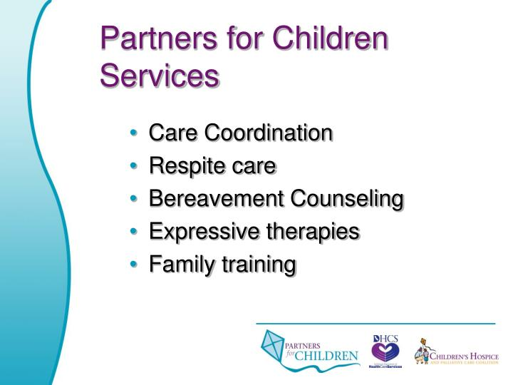 Partners for Children Services