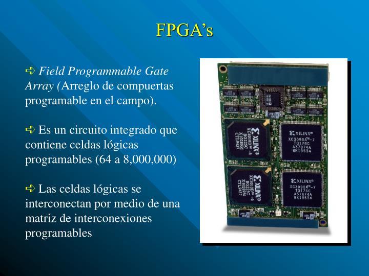 FPGA's