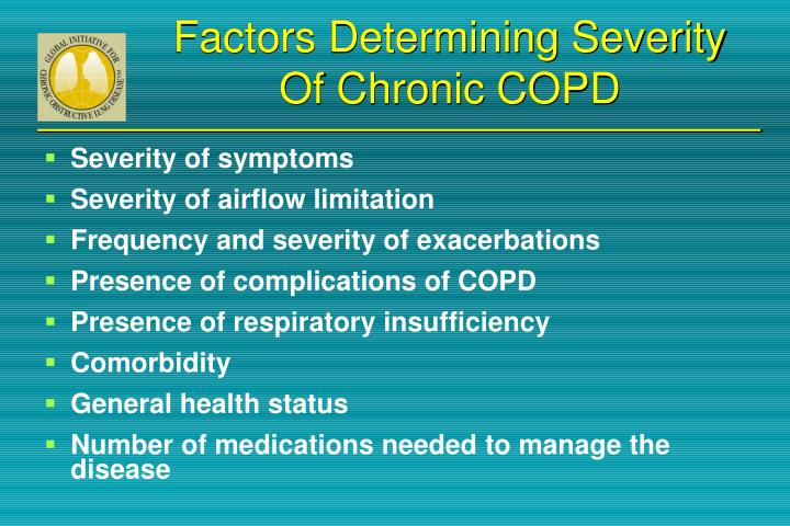 Factors Determining Severity Of Chronic COPD