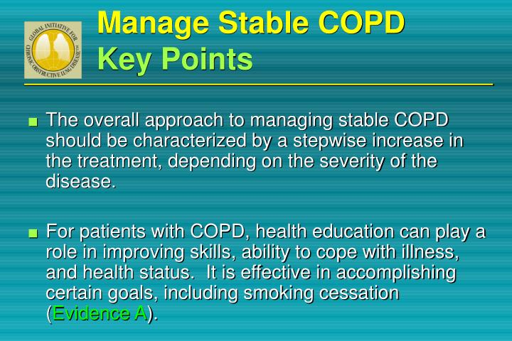 Manage Stable COPD