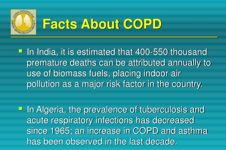 Facts About COPD