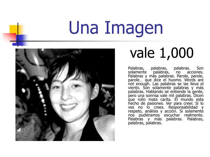 Una Imagen