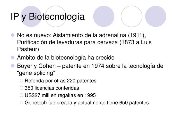 IP y Biotecnología