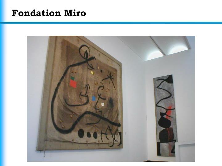 Fondation Miro