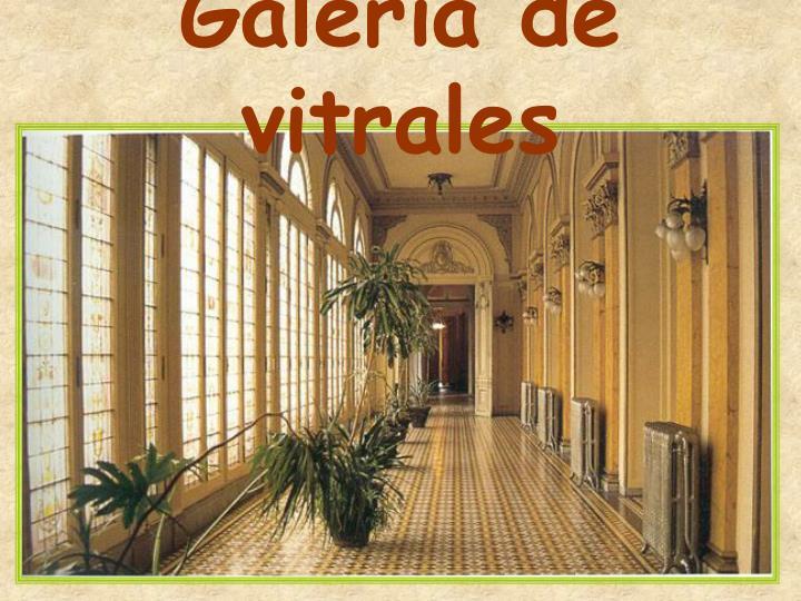 Galería de vitrales