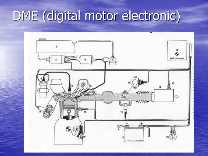 DME (digital motor electronic)