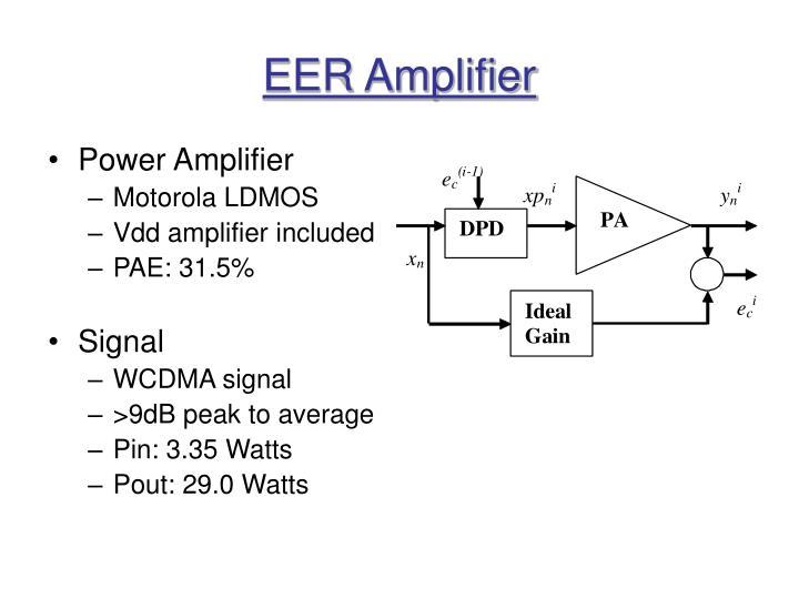 EER Amplifier