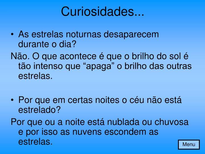 Curiosidades...