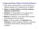 understanding object oriented basics