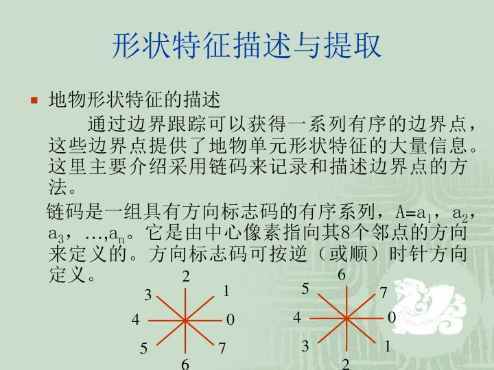 形状特征描述与提取