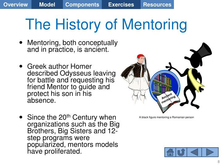 The History of Mentoring