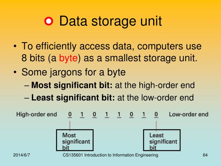Data storage unit