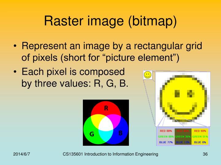 Raster image (bitmap)