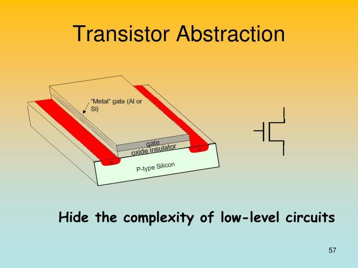 Transistor Abstraction