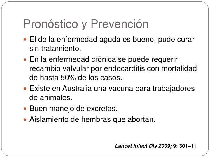 Pronóstico y Prevención