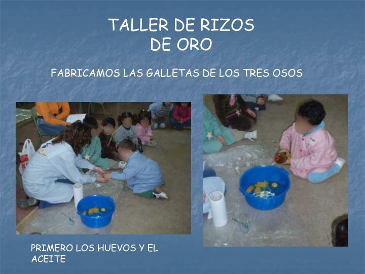 TALLER DE RIZOS DE ORO