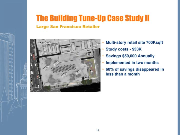 The Building Tune-Up Case Study II