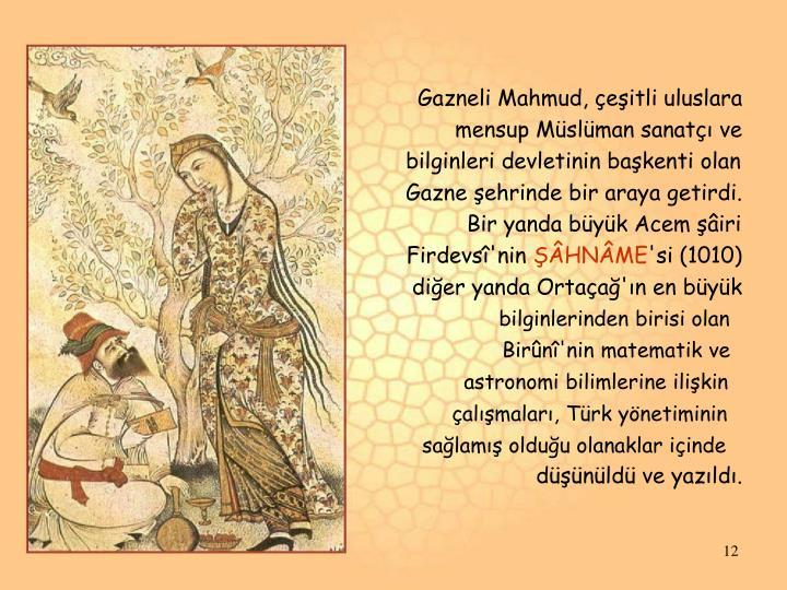 Gazneli Mahmud, çeşitli uluslara