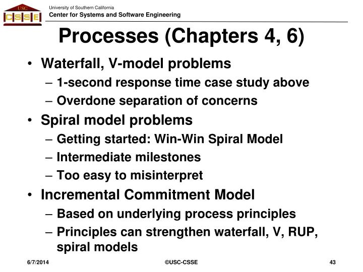 Processes (Chapters 4, 6)