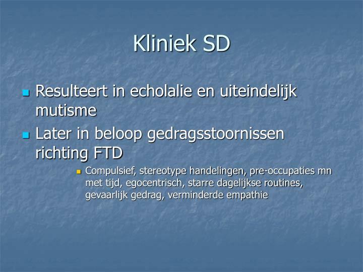 Kliniek SD