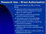 research use w out authorization1