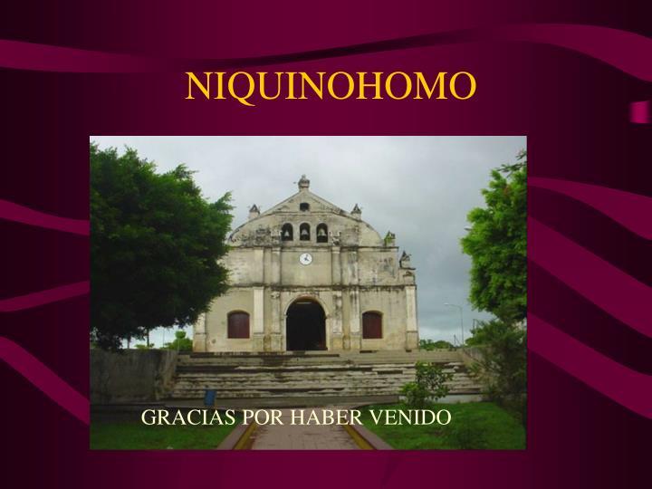 NIQUINOHOMO