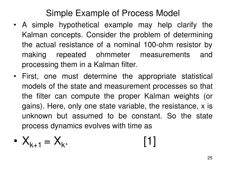 Simple Example of Process Model