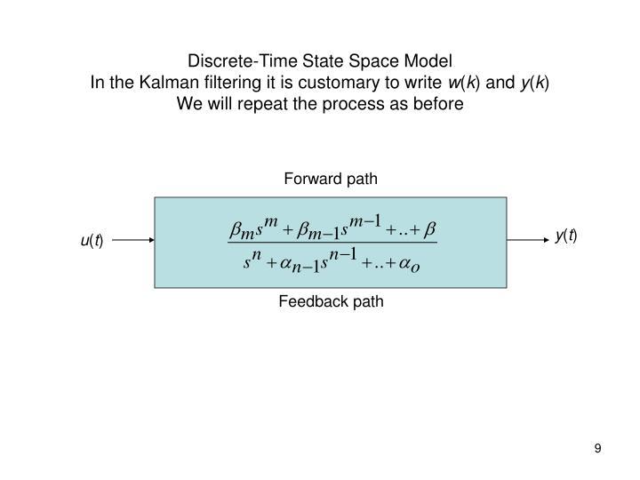 Discrete-Time State Space Model