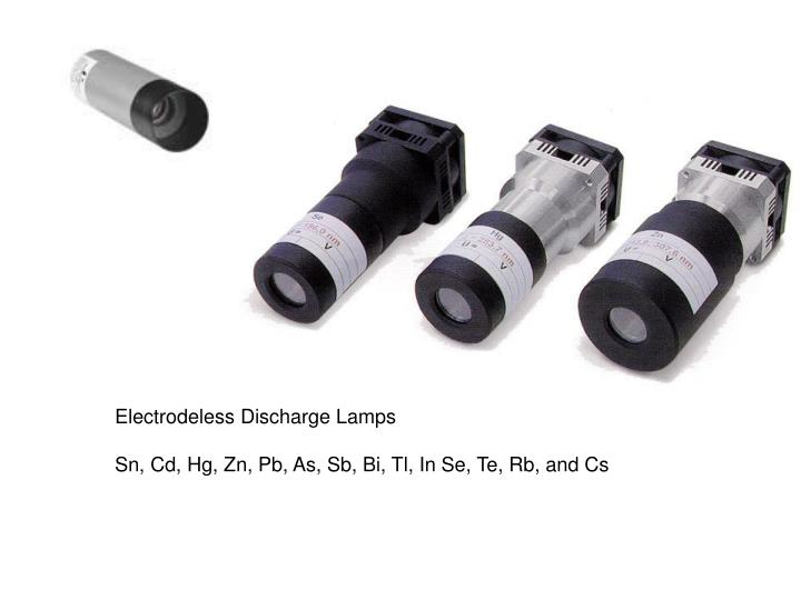 Electrodeless Discharge Lamps