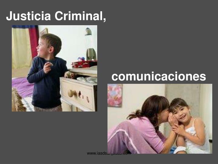 Justicia Criminal,