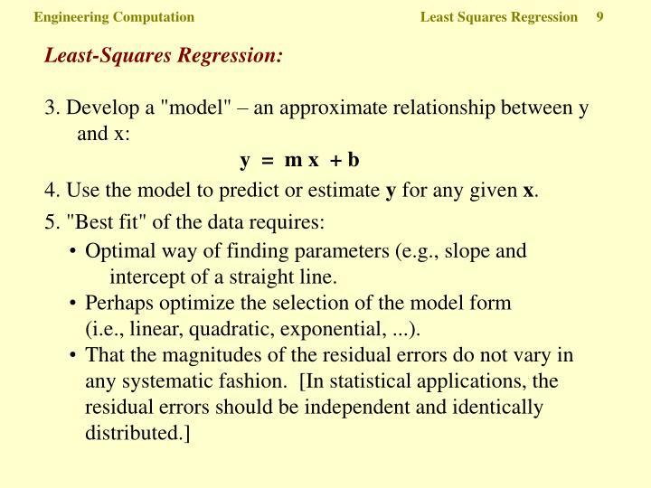 Least-Squares Regression:
