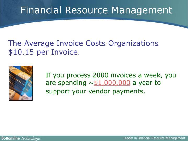 Financial Resource Management