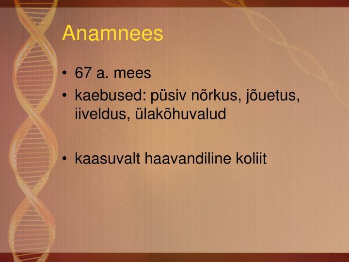 Anamnees