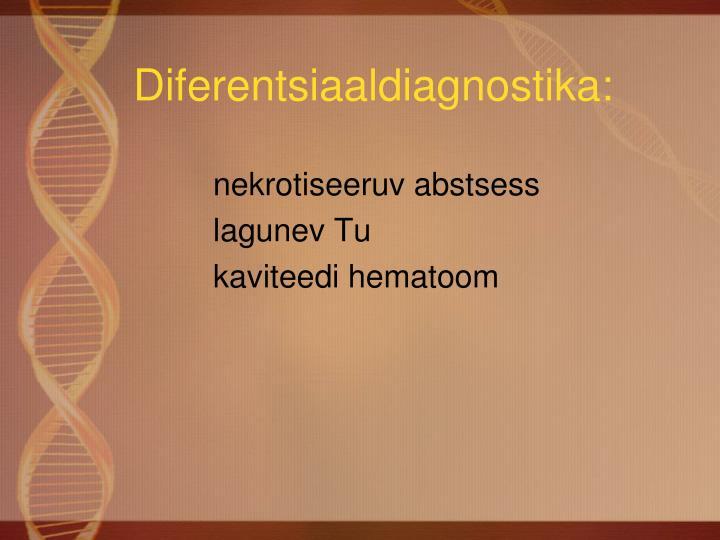 Diferentsiaaldiagnostika:
