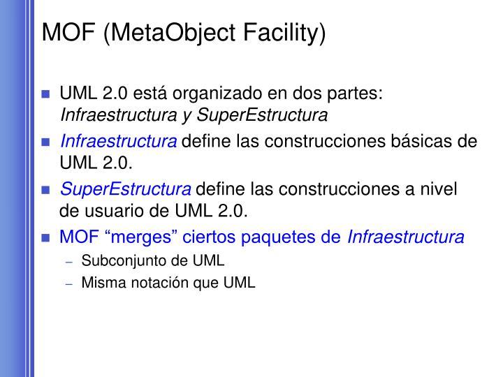 MOF (MetaObject Facility)