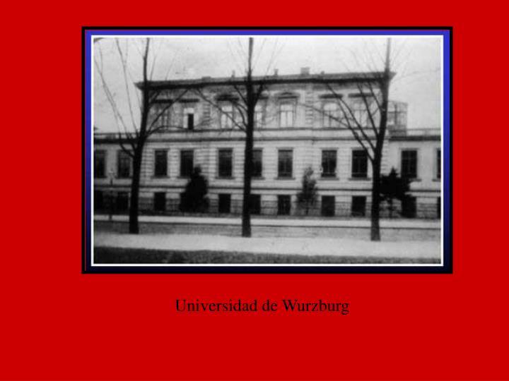 Universidad de Wurzburg