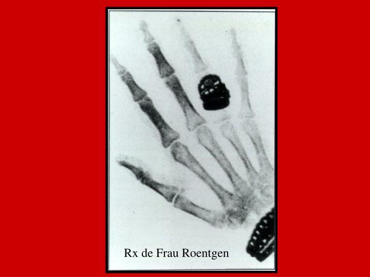 Rx de Frau Roentgen