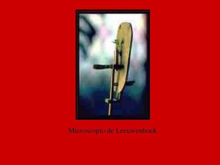 Microscopio de Leeuwenhoek