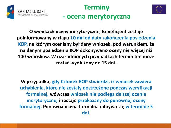 Terminy