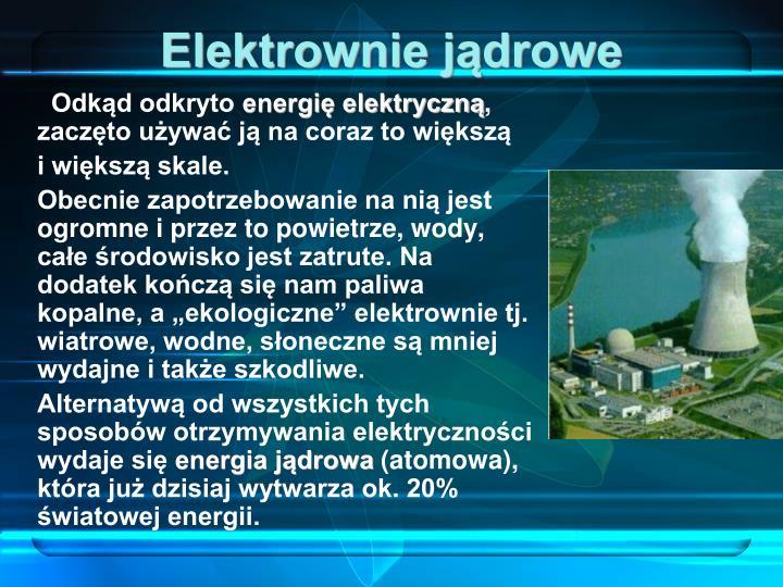 Elektrownie jądrowe