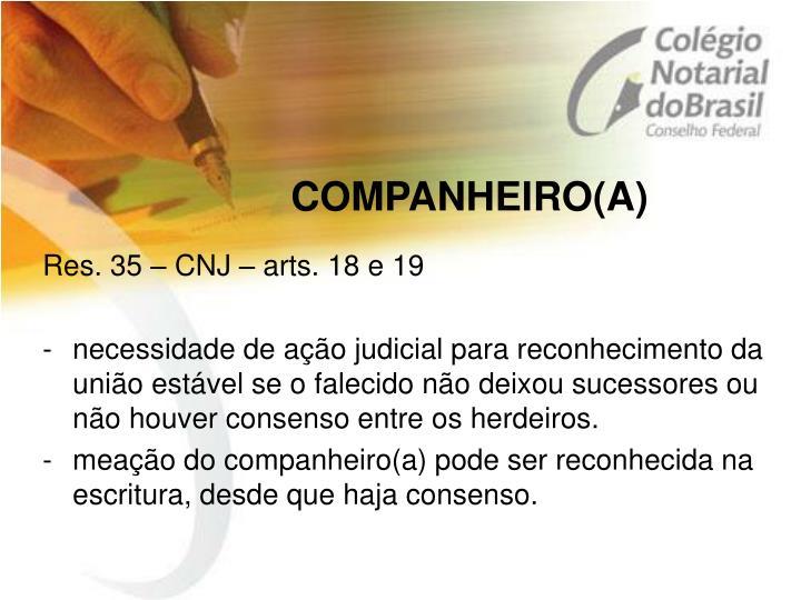 COMPANHEIRO(A)